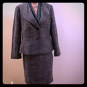 Ann Taylor Petite Tweed Suit